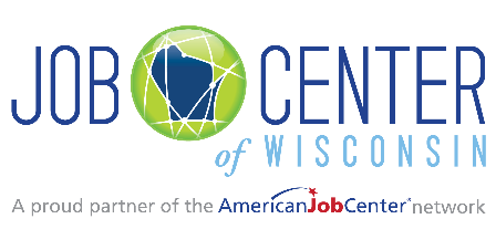 Job Center of Wisconsin logo and link to website