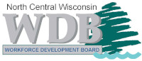 North Central Workforce Development Board logo and link to website