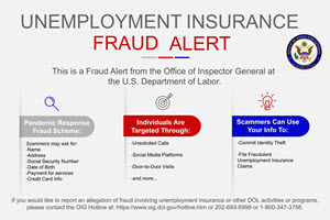 image of fraud alert graphic